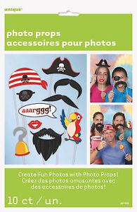 PIRATE-BIRTHDAY-PARTY-SUPPLIES-SELFIE-PROPS-PHOTO-BOOTH-SET-OF-10-PROPS