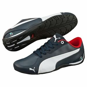 NIB MENS PUMA BMW MS DRIFT CAT 5 NM 2 BLUE MOTORSPORT F1 RACING ... 12679fb2d