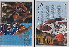NBA FLEER 1995-1996 SERIES 2 - Clyde Drexler, Rockets # 472 - Near Mint
