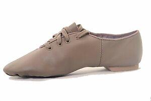 dea0c4cdd A imagem está carregando Capezio-cg02-Tan-Sola-Split-Sapatos-De-Jazz