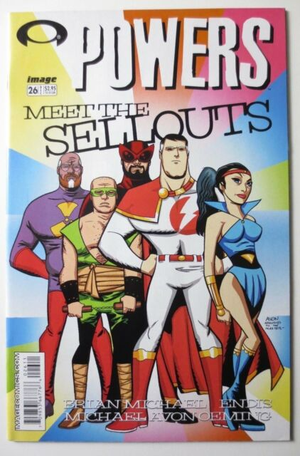 Powers #26 (Dec 2002, Image) (C4527) Meet The Sellouts