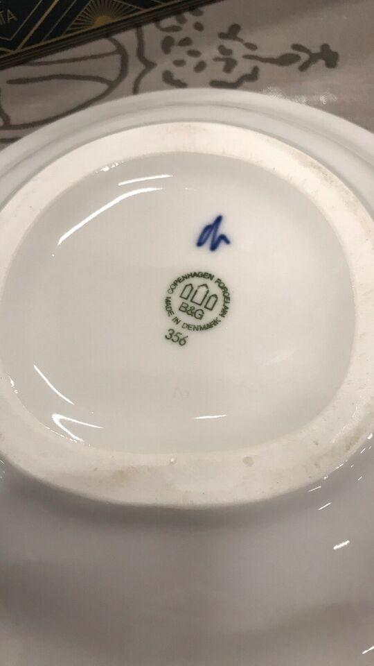 Porcelæn, Fad, Bing og grøndal