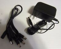 Q-see Lorex Camera 4-in-1 Ac Power Adapter Pack & Cable - 12v 2a