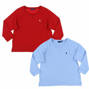 Polo-Ralph-Lauren-Womens-Sweatshirt-Pullover-Crew-Neck-Terry-Cloth-S-M-L-Xl-New