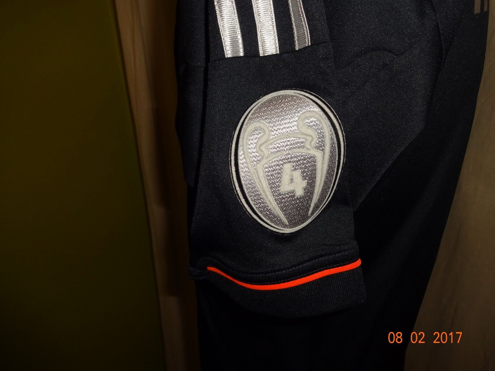 FC Bayern München Adidas Champions League Trikot 12 13 + + + Nr.8 Martínez Gr.S- M 38741f