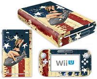 Nintendo Wii U Skin Design Foils Aufkleber Schutzfolie Set - Ww2 Motiv