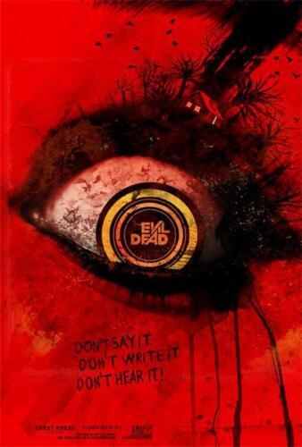 """Thriller Horror Evil Dead 2013 Movie Print Art Poster 18x12/"""" Art Decor"""