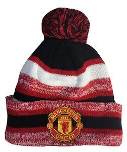 3883e52a689 La foto se está cargando Manchester-United-Sombrero-Gorro-de-Lana-Pom-Pom-