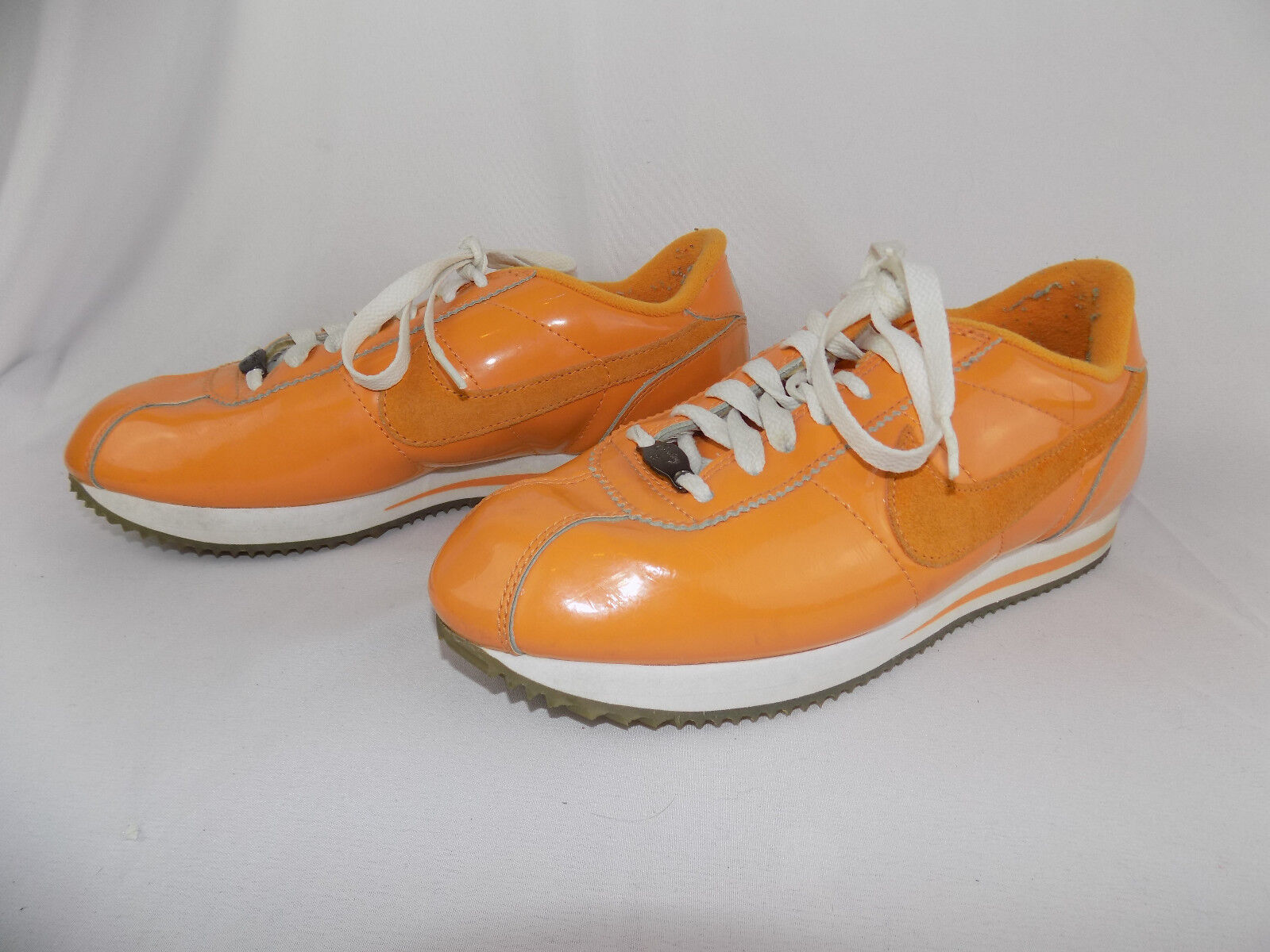Femme NIKE CORTEZ CLASSIC Chaussures ORANGE 010406 Taille 8