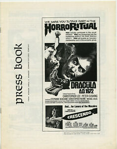 Christopher-Lee-P-Cushing-DRACULA-A-D-1972-CRESCENDO-DOUBLE-BILL-Hammer
