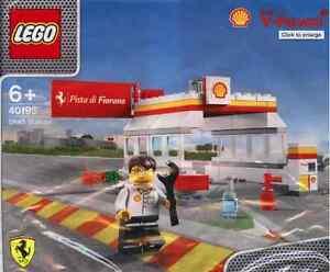 LEGO-Shell-Ferrari-40195-Shell-Tankstelle-NEU-OVP-Shell-Station-NEW-MISB-NRFB