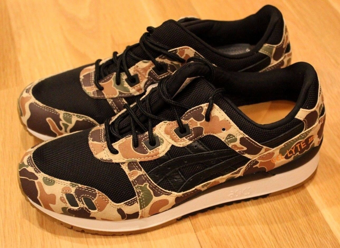 ATMOS X ASICS GEL LYTE 3 III DUCK camouflage taille  Coureurs Nouvelles paniers SUPREME