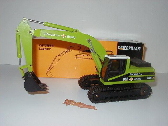 Caterpillar 325 BL Excavateurs tieflöffel stimulée B. V. #367 #367 #367 NZG 1:50 neuf dans sa boîte | Belle  ca1c18