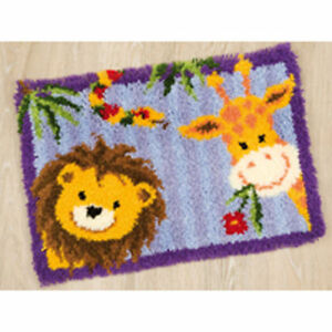 Lion Vervaco Latch Hook Kit Rug Making