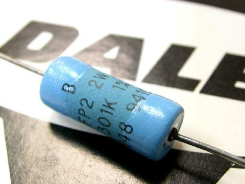 2pcs For Audio DALE FP2 100K 2W 1/% 500V Metal Film Resistor