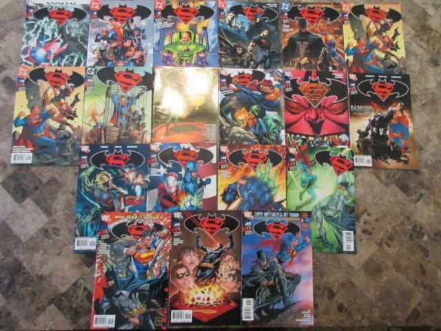 Lot of (18) Superman/Batman + Annual #2 DC 2004 - 2010 Comic Book Lot