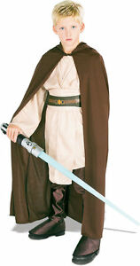 Star-Wars-Movie-Jedi-Hooded-Robe-Child-Medium-Costume-Licensed-Luke-Obiwan
