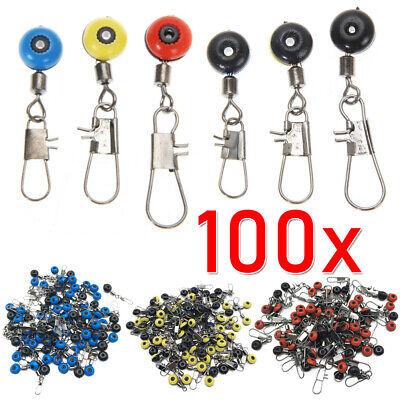 100 Perlen Laufwirbel Perlenlaufwirbel Für Angelpose Blei Futterkorb Posenadapte