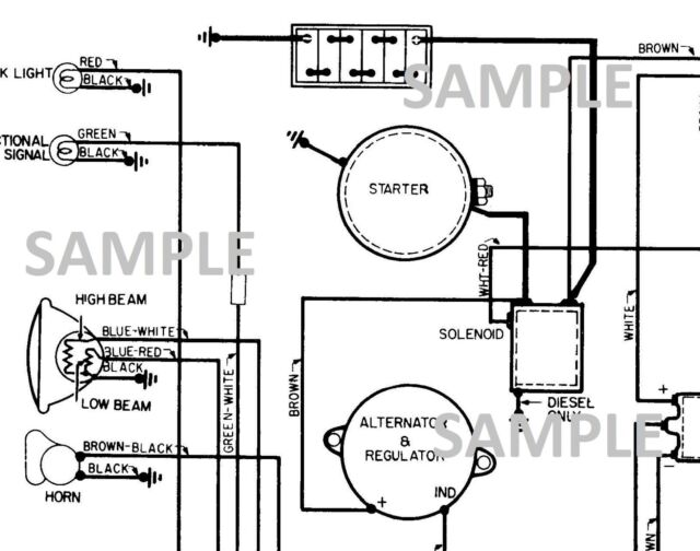 1973 73 Rover Land Wiring Diagram B  W Pdf