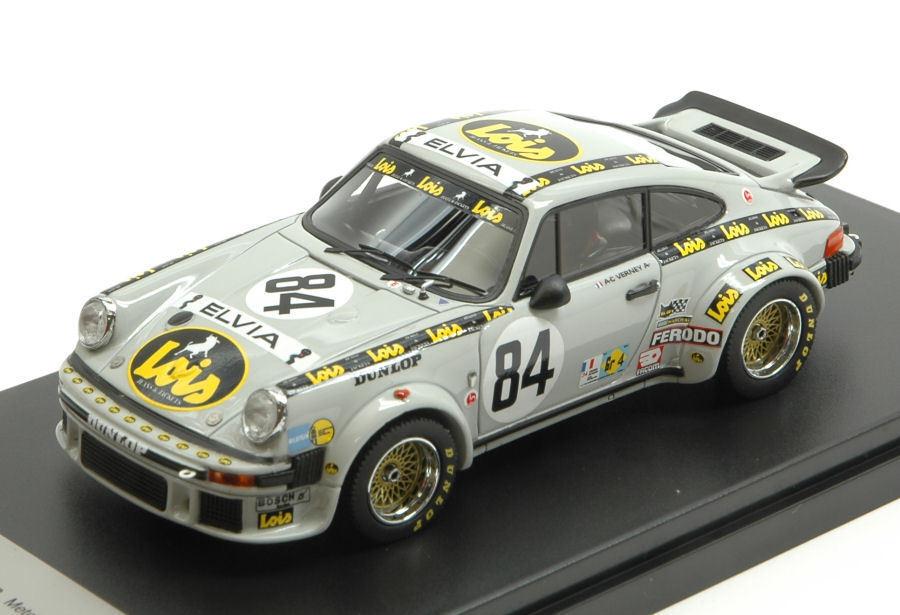 Porsche 934  84 19th Le Mans 1979 A.C.Verney   P. Bardinon   R. Metge 1 43 Model