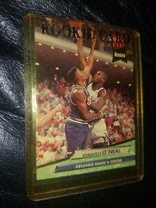 576eb8f4c31 1992 - 1993 Fleer Ultra Shaquille O Neal Orlando Magic  328 ...