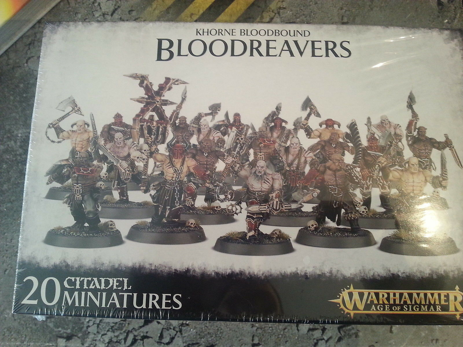 WARHAMMER AGE OF SIGMAR KHORNE BLOODBOUND BLOODREAVERS - NEW NEW NEW & SEALED 1ada8d