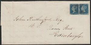 1841-SG14-2d-BLUE-PLATE-3-PAIR-COVER-JEDBURGH-1873-SINGLE-TO-EDINBURGH-LI-LJ