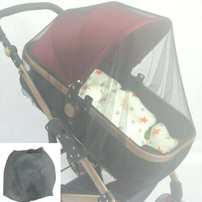 New Baby Stroller Pushchair Pram Mosquito Fly Insect Net Mesh Infant Buggy Cover