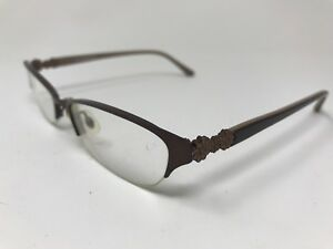 e6be013db6 Image is loading Marchon-Womens-Eyeglasses-Halfrimless-M724-53-17-140-