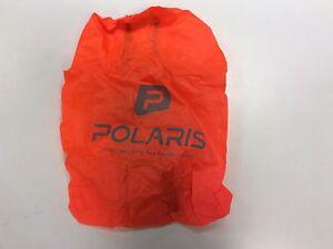 Polaris waterproof backpack rucksack Cover In Orange With Reflective Logo