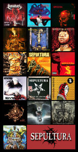 Sepultura album discography magnet 45 x 35 ebay image is loading sepultura album discography magnet 4 5 034 x thecheapjerseys Choice Image