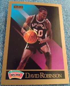 1990-91-Skybox-260-David-Robinson-San-Antonio-Spurs-Rookie-Basketball-Card