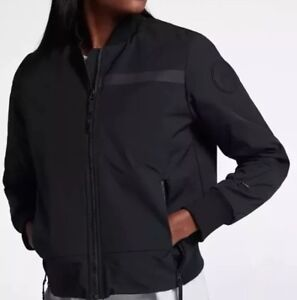 099d7015d Details about Nike Women's Sportswear Tech Bomber Jacket XL NEW 854753-451  $225 Blue Navy