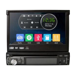 Gps Navigation 7 Hd Single 1 Din Car Stereo Radio Dvd Player