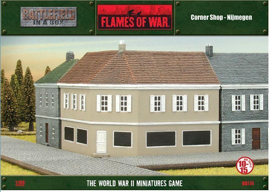 Flames Of War - Corner Shop - BB174