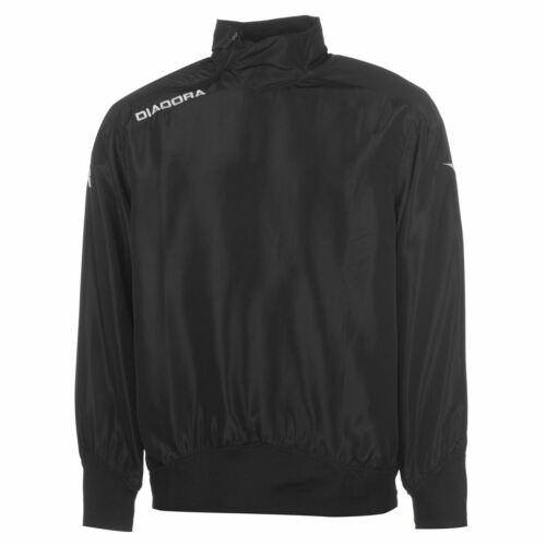 Diadora Montana Training Top Mens Black//White Football Soccer Sweater Sweatshirt