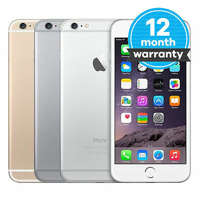 SEALED Apple iPhone 6 Plus - 128/64GB - Gold (Verizon) Unlocked Smartphone O