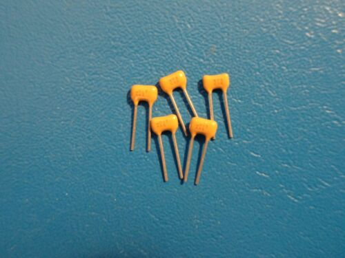 AVX 100V 0.047uf  MULTILAYER X7R CERAMIC CAPACITOR QTY = 5
