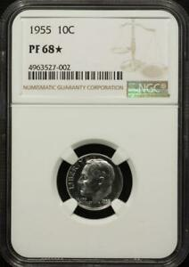1955-Roosevelt-Silver-Dime-NGC-PF68-STAR-PROOF-527-002