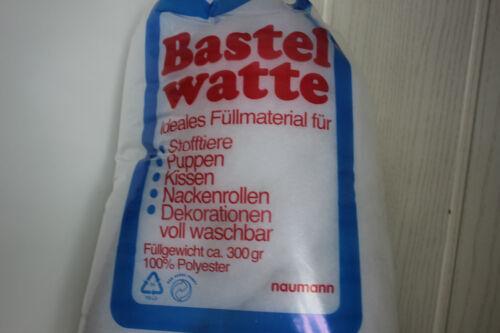 Bastelwatte//füllwatte 300 Gram bolsa 100/% artificial hohlfaser