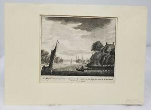 Antique-Old-Master-Dutch-Copper-Engraving-Peter-Schenk-the-Elder-Amsterdam-Print