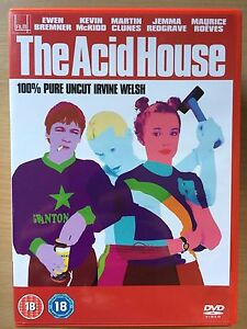 The-Acid-House-DVD-1998-British-Scottish-Irvine-Welsh-Cult-Anthology-Film