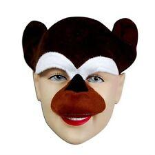 Monkey Chimp Mask Animal Book Week Fancy Dress Costume Accessory P984