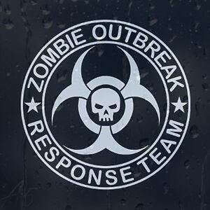 Zombie-Outbreak-Response-Team-Skull-Car-Or-Laptop-Decal-Vinyl-Sticker