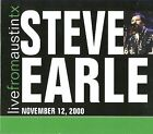 Live from Austin TX November 12, 2000 [Digipak] by Steve Earle (CD, May-2008, New West (Record Label))