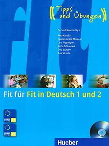 Hueber FIT FUR FIT IN DEUTSCH 1 UND 2 mit CD: Tipps und Ubungen ...