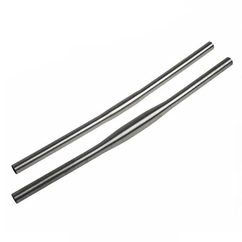 Titanium MTB CX Straight Flat Handlebars 25.4 31.8 Length 600-720mm