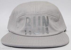 BRAND-NEW-RUN-ICNY-3M-REFLECTIVE-STRAPBACK-5-PANEL-HAT-CAP