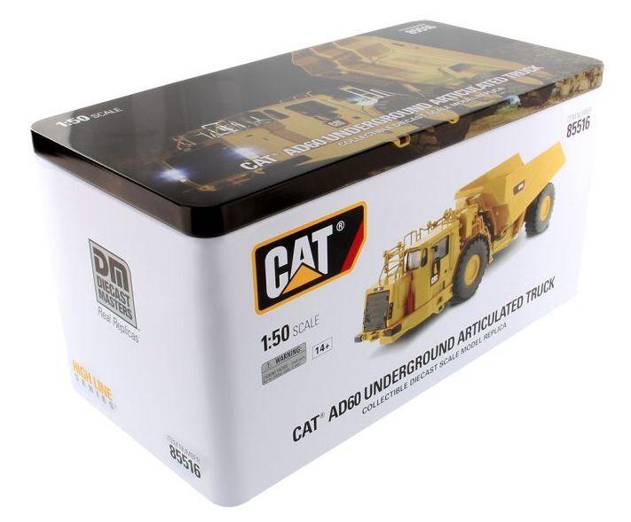 Diecast Masters Masters Masters 85516 échelle 1:50 Cat AD60 articulé Mining Truck (En parfait état, dans sa boîte) | Faible Coût  98975a