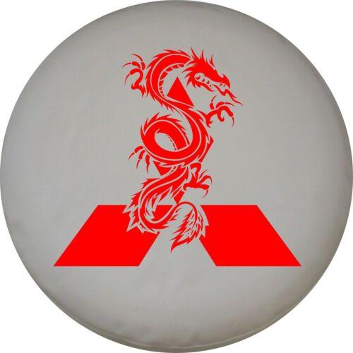 4x4 Spare Wheel Cover 4 x 4 Camper Graphic Vinyl Sticker Mitsubishi Dragon AA33
